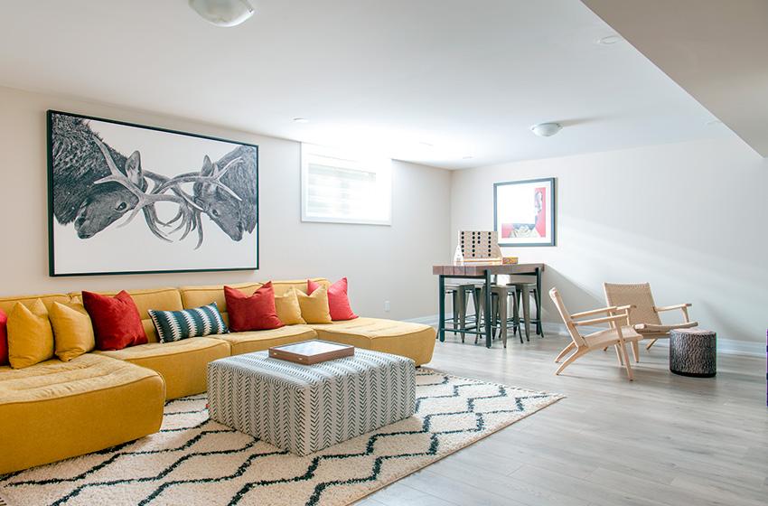 Quinton, Single Family Home - Basement