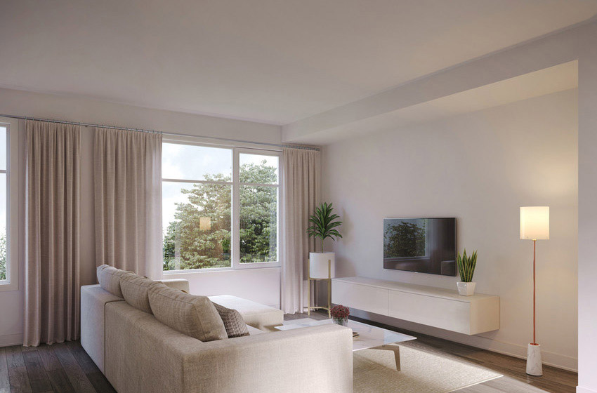 Grey - Urban Townhome - Living Room