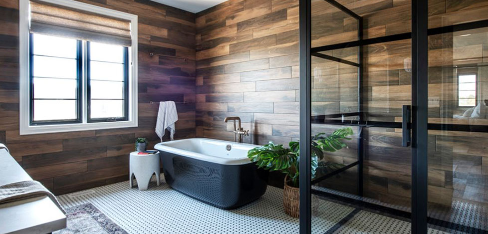 Bohemian Main Bathroom
