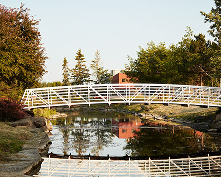 Kanata North - Bridge over water