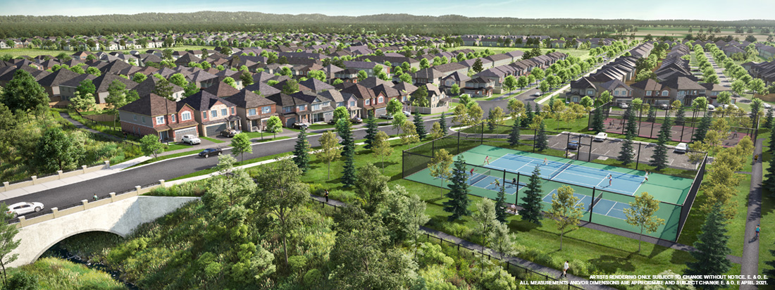 Community Rendering of Brookline, Kanata