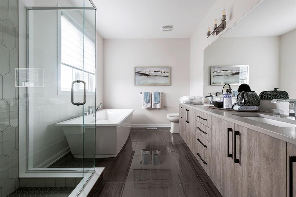 Brookline – Clairmont: Bathroom – Single Family Home