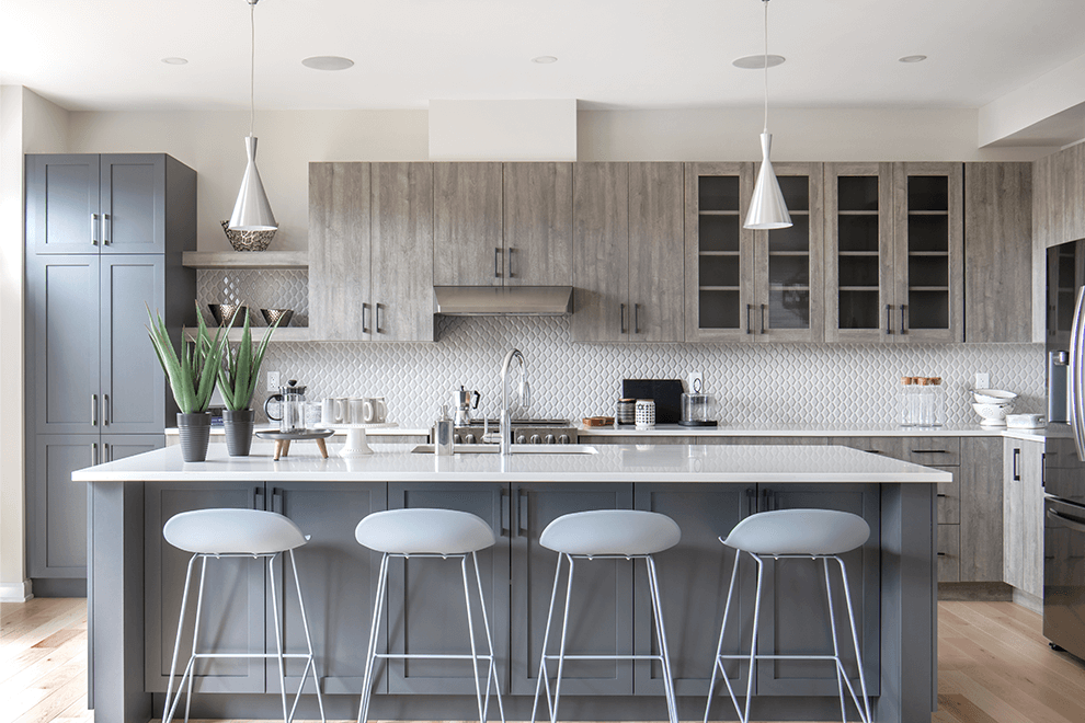 Brookline – Clairmont: Kitchen – Single Family Home
