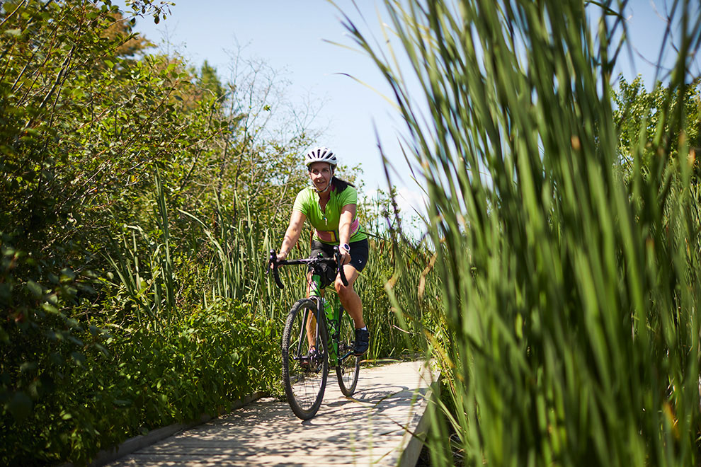 Kanata North is surrounded by nature and scenic bike paths