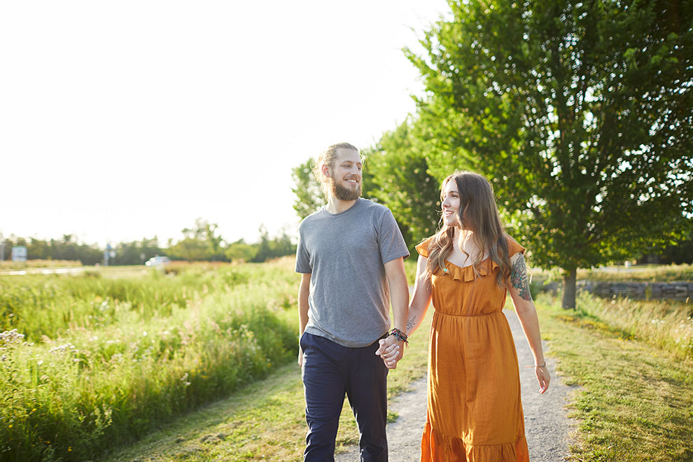 There is plenty of greenspace in Kanata North to explore
