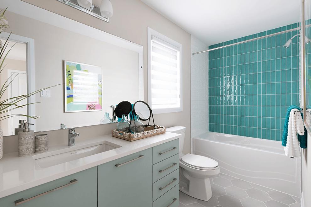 Brookline – Kinghurst: Bathroom – Single Family Home