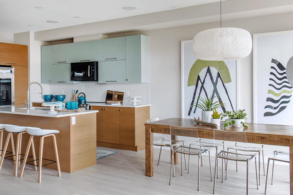 Brookline – Kinghurst: Kitchen – Single Family Home