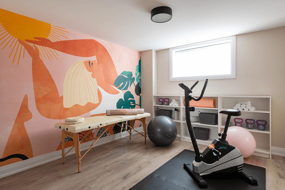 Brookline – Quinton: Gym – Single Family Home