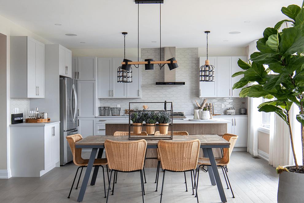 Brookline – Quinton: Kitchen – Single Family Home