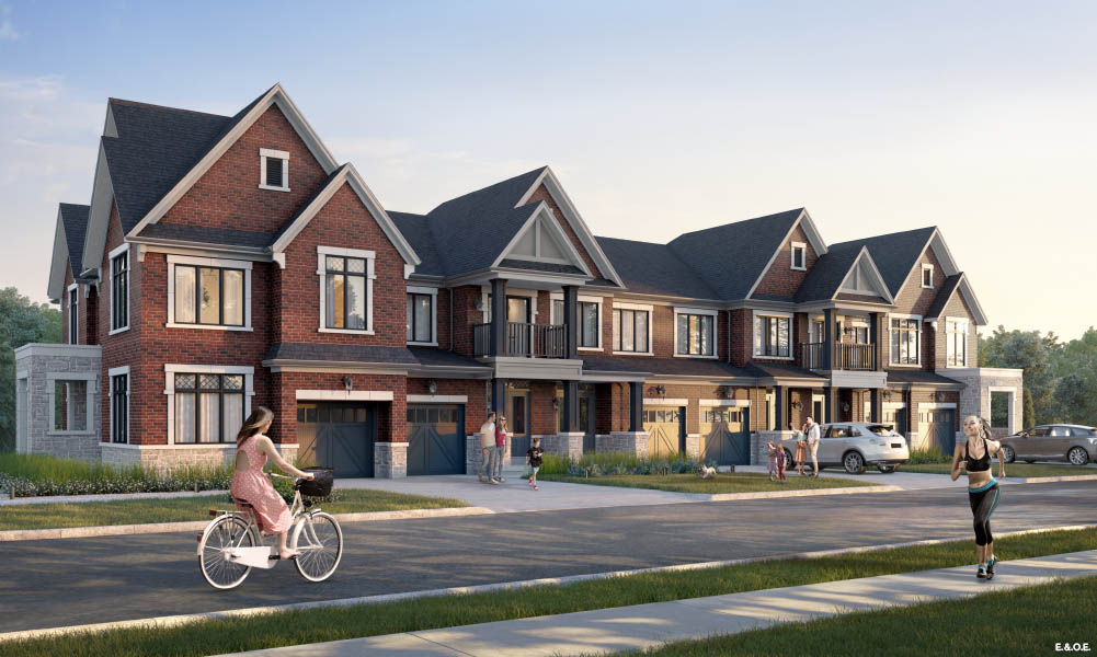 Townhomes in Oshawa