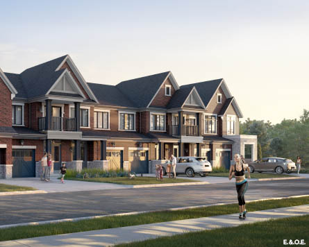 Townhomes in North Oshawa