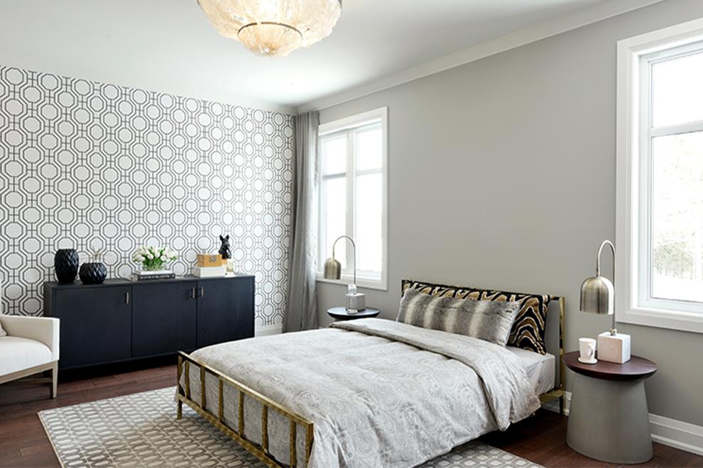 Elderberry - 52' Single Family Home - Master Bedroom - Mahogany, Manotick