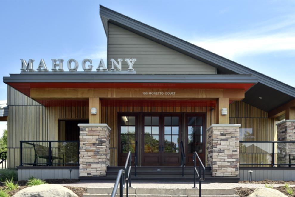 Exterior of Mahogany Sales Centre
