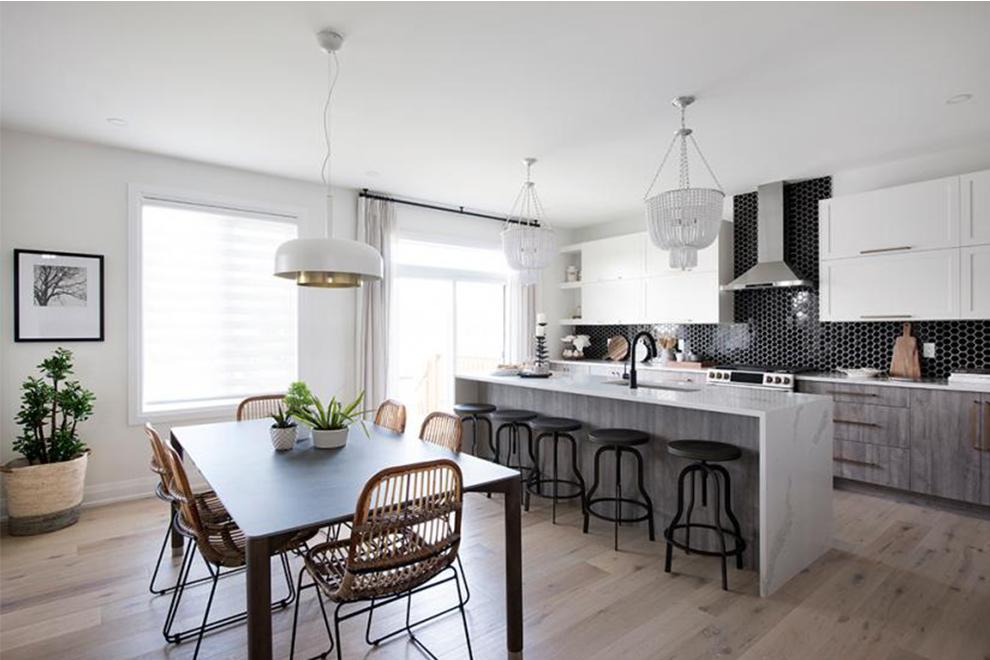Noble - 45' Single Family Home - Kitchen - Mahogany, Manotick