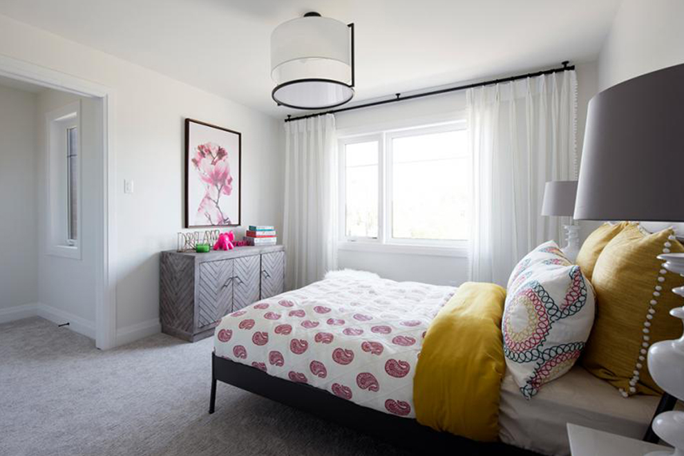 Noble - 45' Single Family Home - Bedroom 2 - Mahogany, Manotick