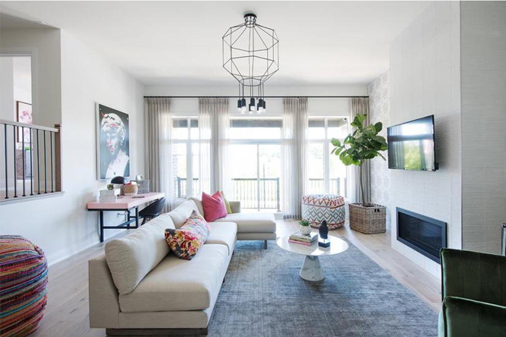Noble - 45' Single Family Home - Sunken Living Room - Mahogany, Manotick