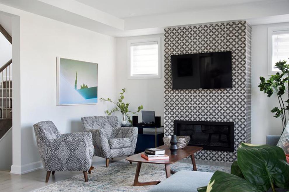 Dahlia - 52' Single Family Home - Great Room - Mahogany, Manotick