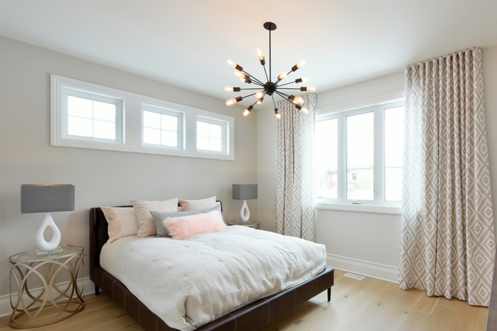 Butternut - 45' Bungalow - Master Bedroom - Mahogany, Manotick