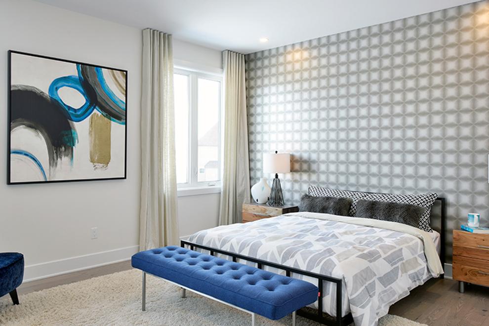 Heartwood - 45' Single Family Home - Master Bedroom - Mahogany, Manotick