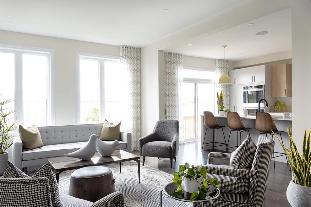 Quinn's Point – Stanley: Living Area – Single Family Home