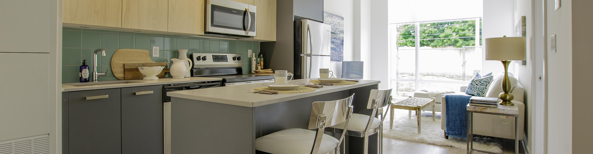 Open Kitchen at Marlborough Court Apartments in Toronto. Rent with Minto Apartments.