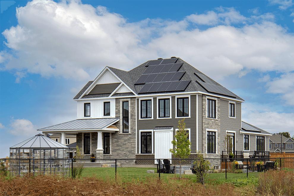 2021 Minto Dream Home Exterior