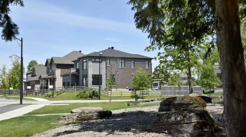 Mahogany, Manotick Model Homes