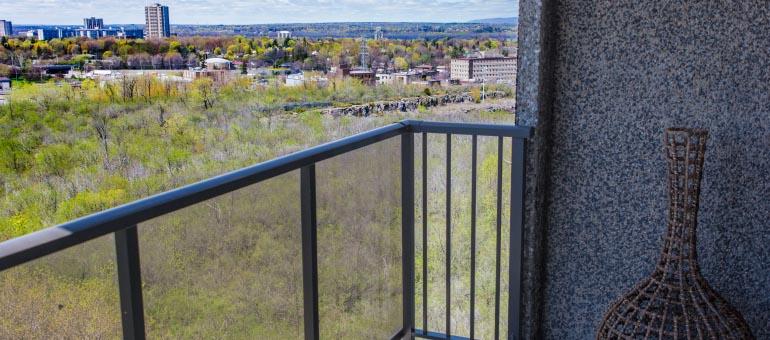 Castle Hill apartments view