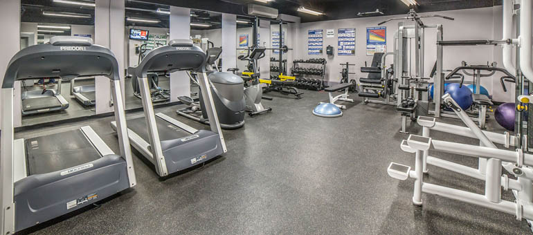 Fitness Centre at Minto Apartments Castle Hill In Ottawa