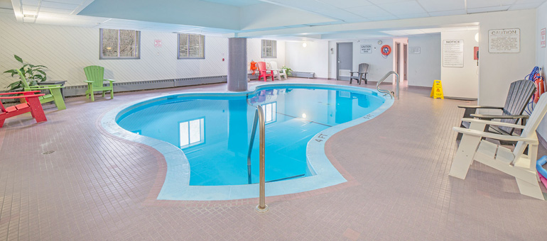 Indoor Pool At Castle Hill Apartments In Ottawa