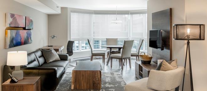 Ottawa downtown furnished rental
