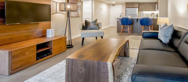 Ottawa downtown furnished apartment