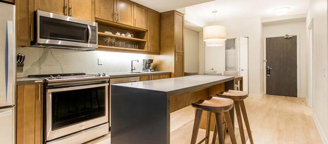 Furnished apartments downtown Toronto short term: Minto Yorkville