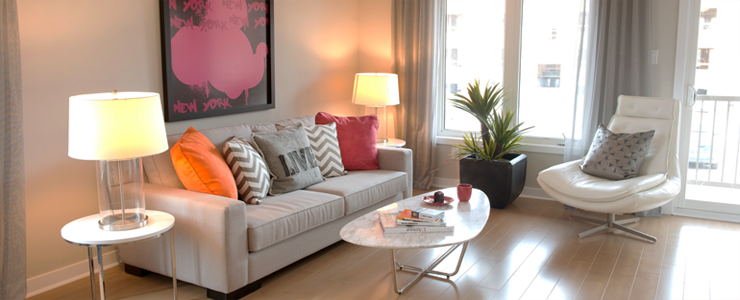Applewood Townhomes Living Room