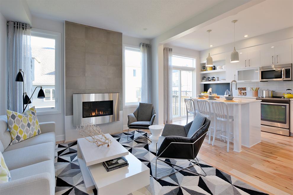 Hyde Living Area, Minto Communities Ottawa