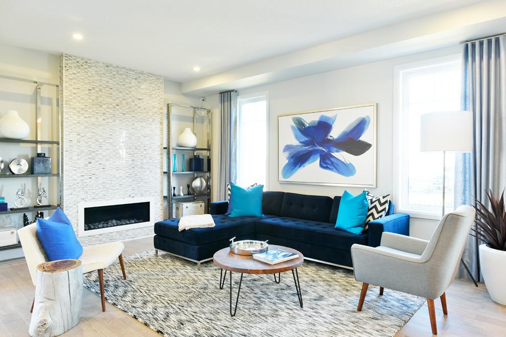Talbot Living Room, Minto Communities Ottawa