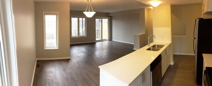 Navaho Terrace Renovated Rental Kitchen View