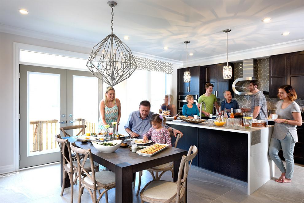 Marquette Kitchen, Minto Communities Ottawa
