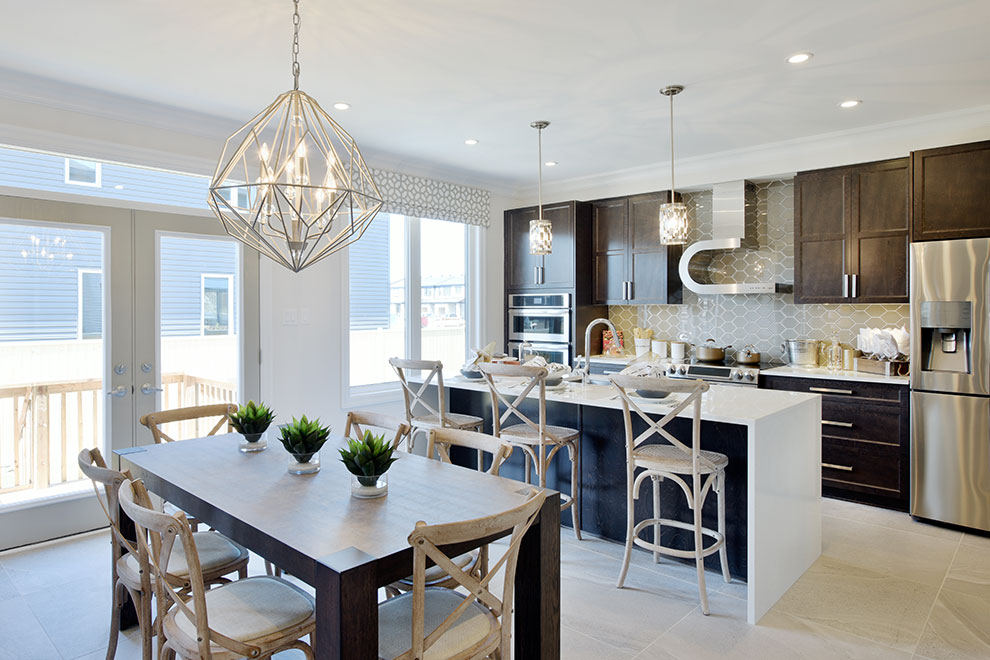 Marquette - Single Family Home - Breakfast area and kitchen