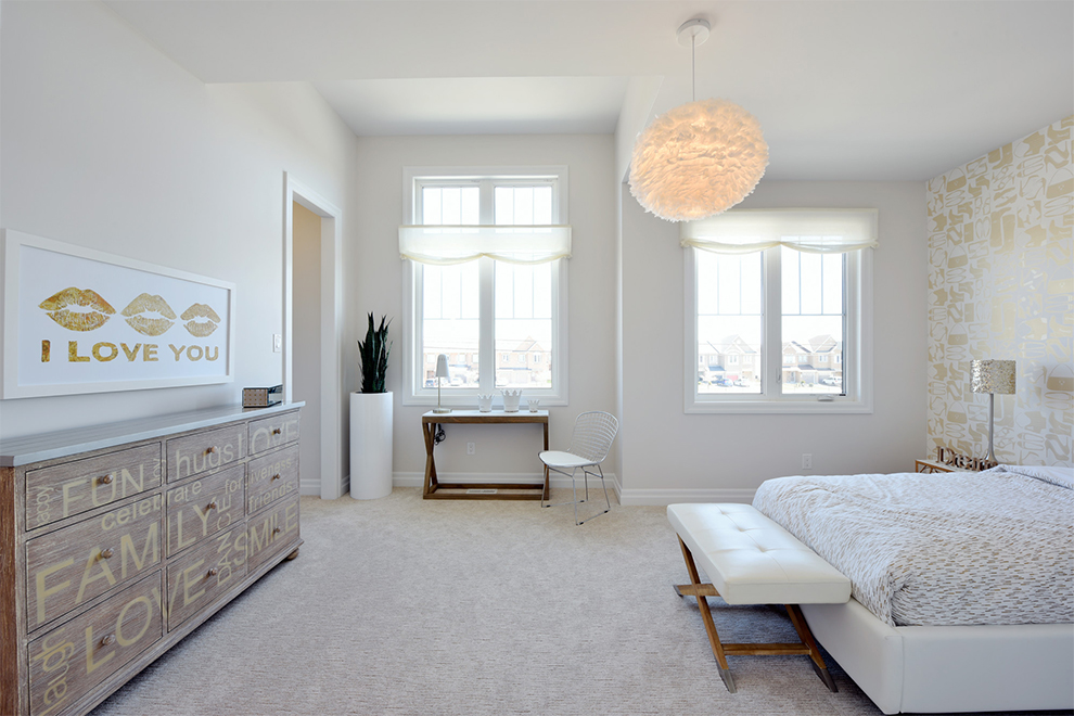 Marquette Bedroom, Minto Communities Ottawa