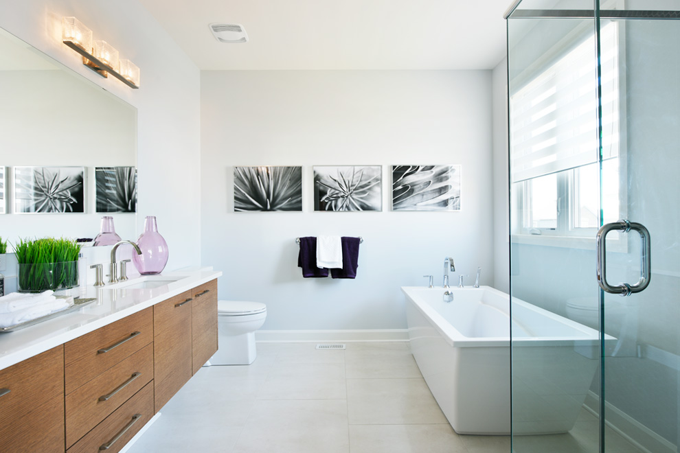 Stanley - Single Family Home - Bathroom - by Minto Communities