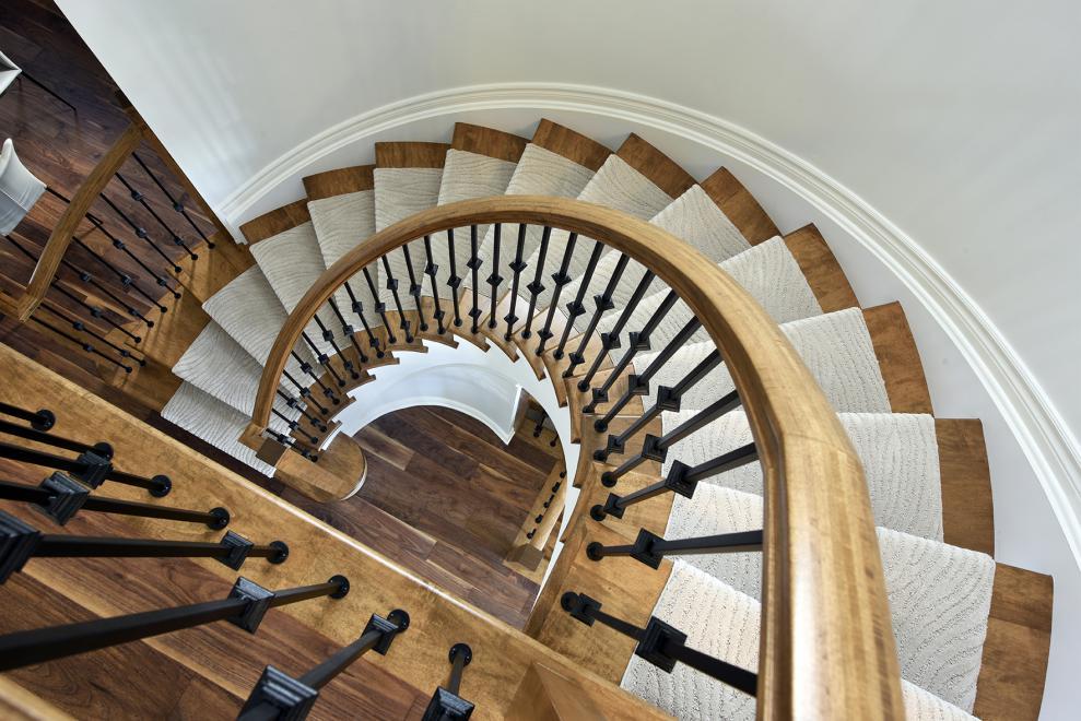 Georgian - Single Family Home - Staircase