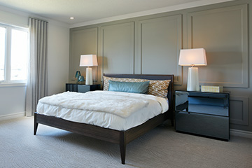 Georgian - Single Family Home - Master bedroom - by Minto Communities