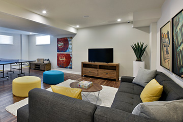 Georgian - Single Family Home - Basement - by Minto Communities