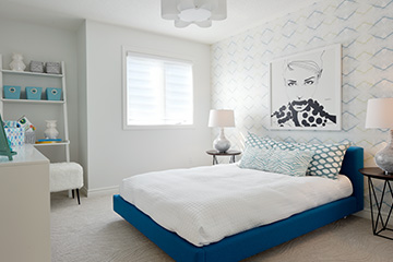 Georgian - Single Family Home - Bedroom - by Minto Communities