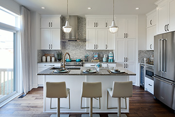 Georgian - Single Family Home - Kitchen - by Minto Communities
