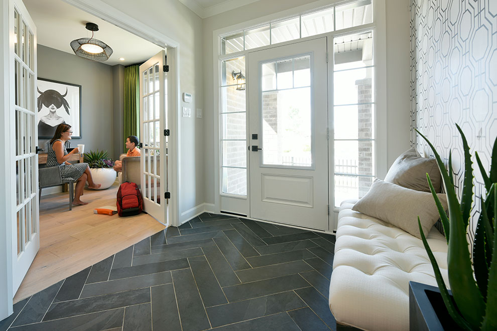 Entrance at Mackenzie Model Home For Arcadia in Kanata Ottawa