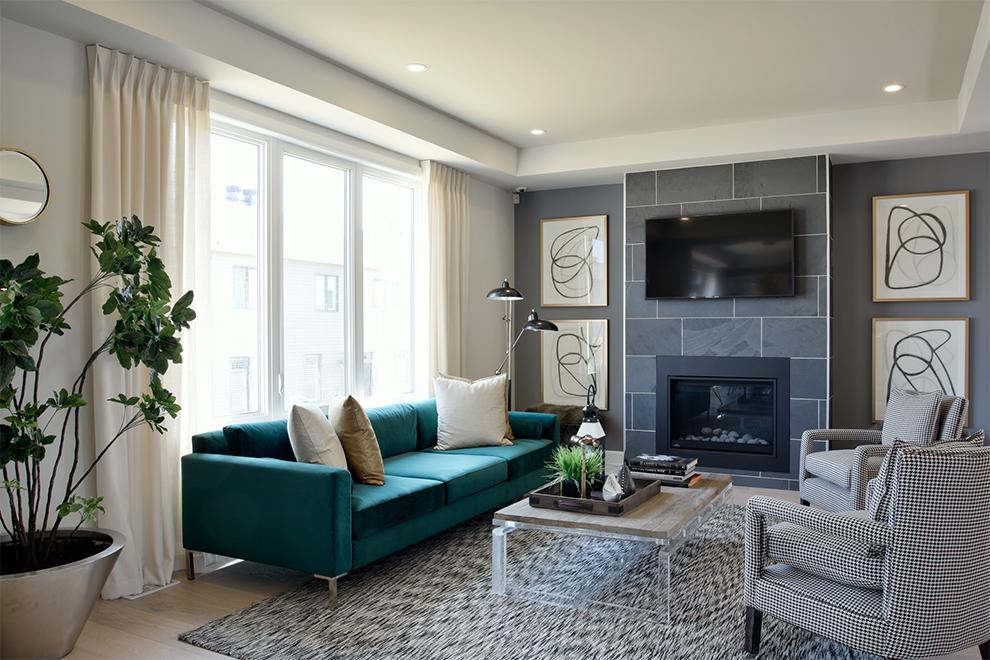 Mackenzie Living  Room, Minto Communities Ottawa