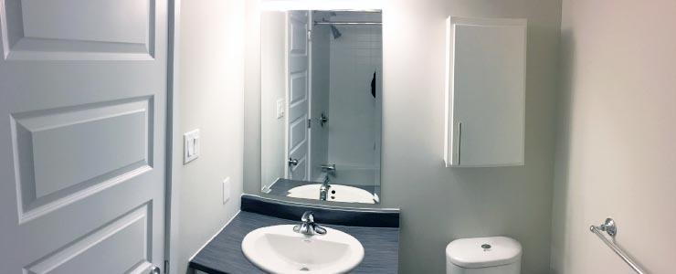 Bathroom at the Navaho Walkups