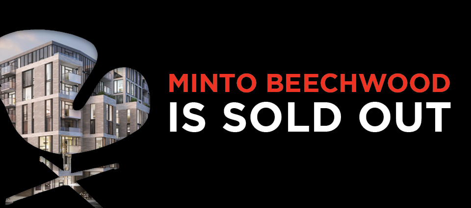 Minto's condo project on Beechwood Ave, New Edinburgh is Sold Out!
